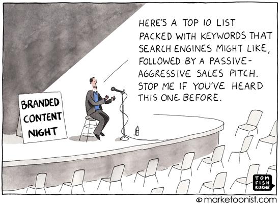 Marketoonist: Branded Content