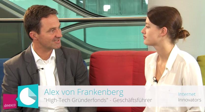 Geschäftsführer Alex von Frankenberg im Interview über Venture Capital