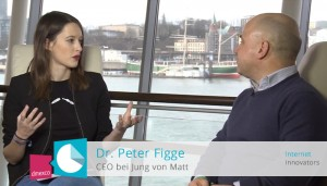 Interview mit Dr. Peter Figge auf der Online Marketing Rockstars Conference