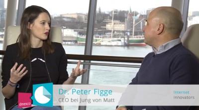 Interview mit Dr. Peter Figge auf der Online Marketing Rockstars Conference