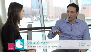 The interview with Shaul Olmert