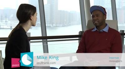 Interview mit Mike King auf der Online Marketing Rockstars Conference