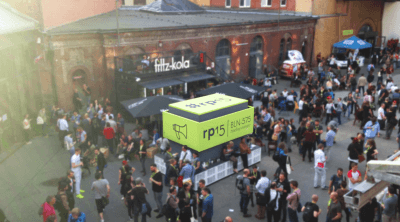 Im Vorhof der re:publica 2015