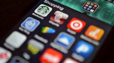 Ansicht der Apps auf einem Smartphone