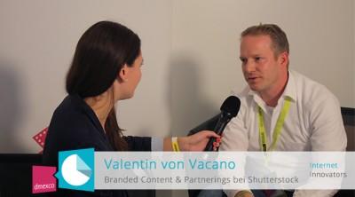 Valentin von Vacano im Interview mit Anja Lange