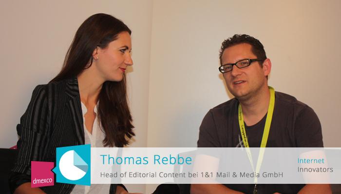 Thomas Rebbe im Gespräch mit Moderatorin Anja Lange