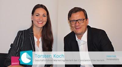 Thorsten Koch im Gespräch mit Moderatorin Anja Lange
