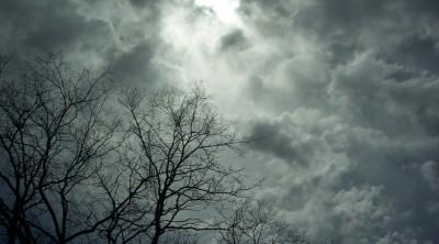 Zugezogender Himmel