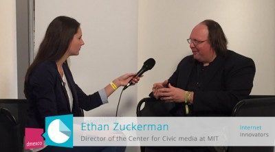 Ethan Zuckermann, Director of Civic Media MIT (Massachusetts Institute of Technology)