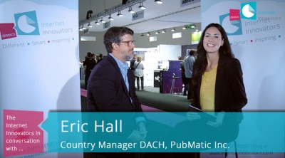 Eric Hall über die SSP-Technologie PubMatic auf der dmexco 2015