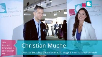 Unsere Moderatorin Anja Lange im Interview mit Christian Muche