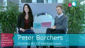 Peter Borchers, Founder von hub:raum, Inkubator der Deutschen Telekom, im Interview auf der dmexco 2015