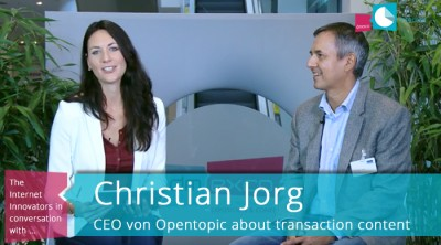 Christian Jorg talks about Opentopic