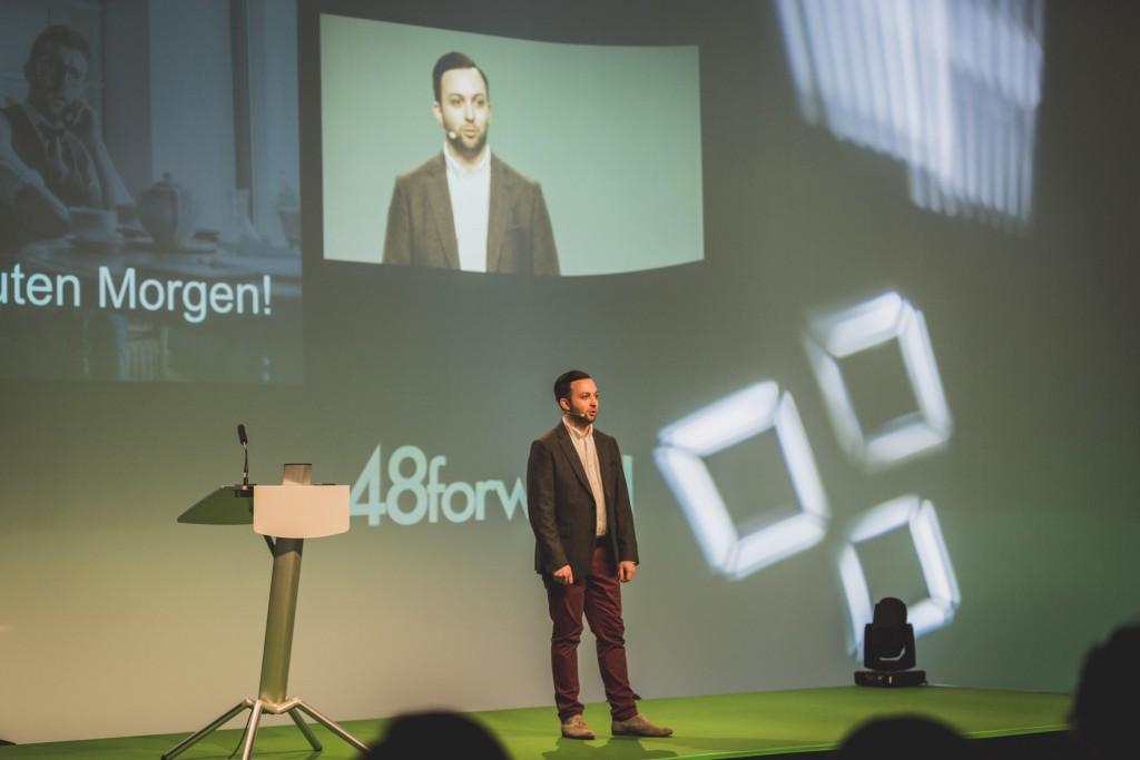 Daniel Fürg, Initiator der 48forward Konferenz, Foto: Meltem Salb, www.meltem-salb.com