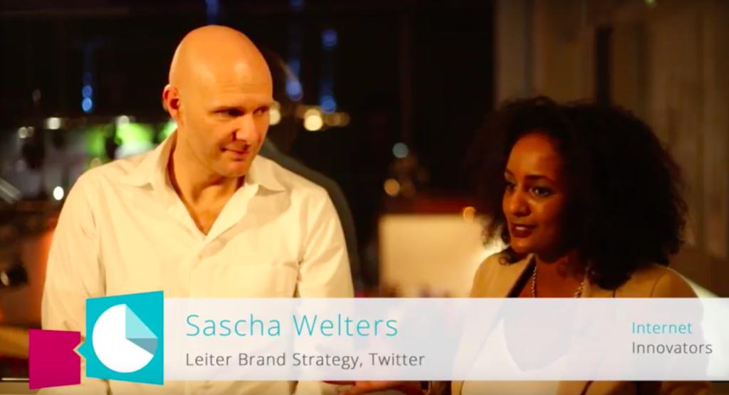 Sascha Welters (Twitter) auf der d3con 2016