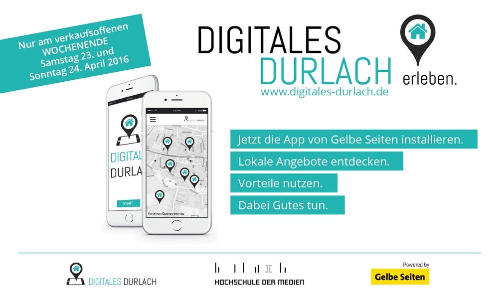 LBS – Pilotprojekt: Karlsruhe-Durlach wird zum digitalen Vorzeigeort