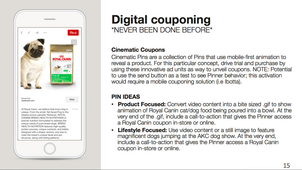 Pinterest Advertising Digital-Couponing