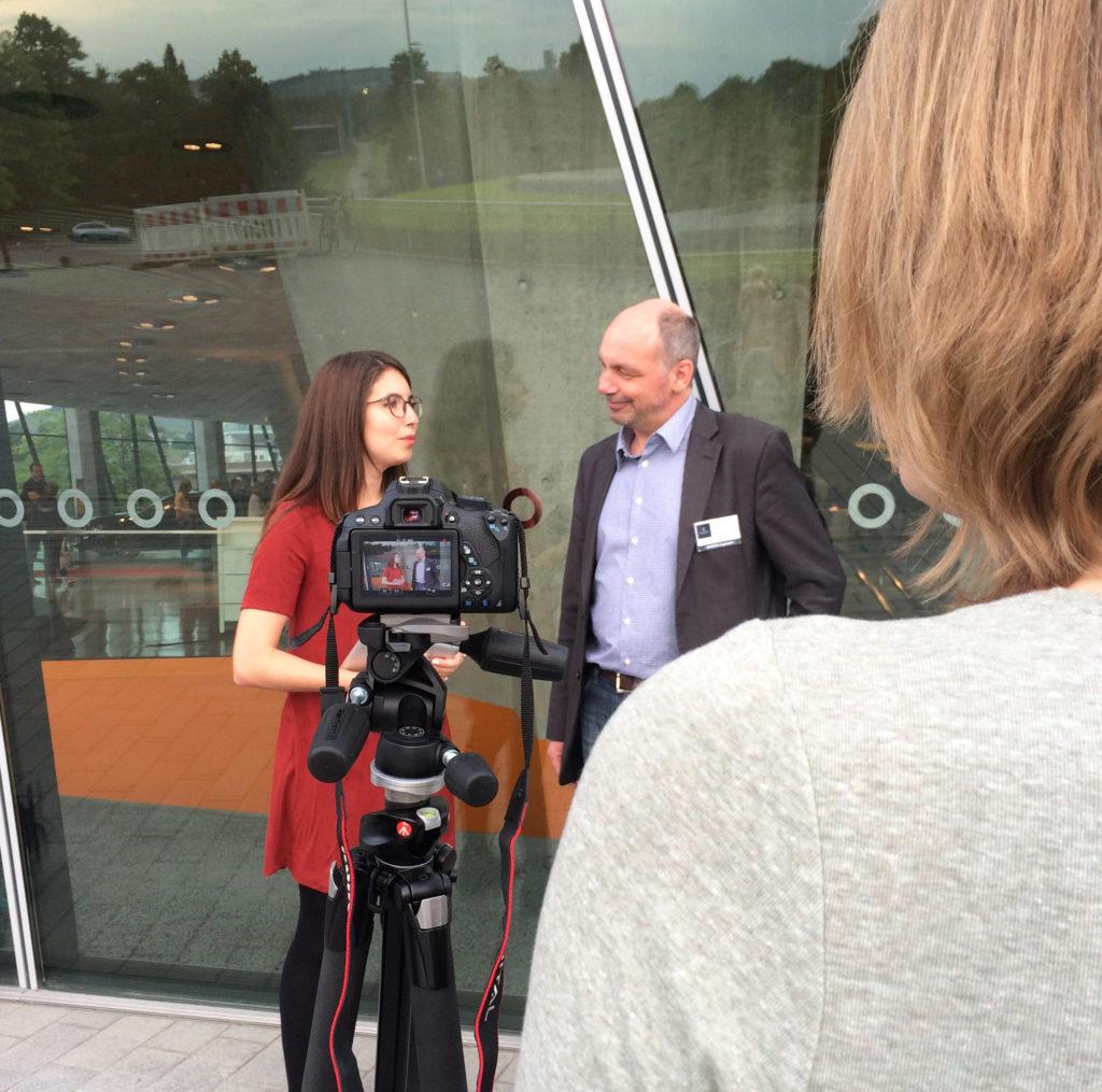 Interview mit Markus Besch bei der Mercedes Benz Social Media Night