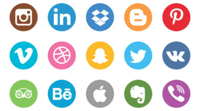Social media marketing and platform icons Icon vector designed by Patrickss - Freepik.com