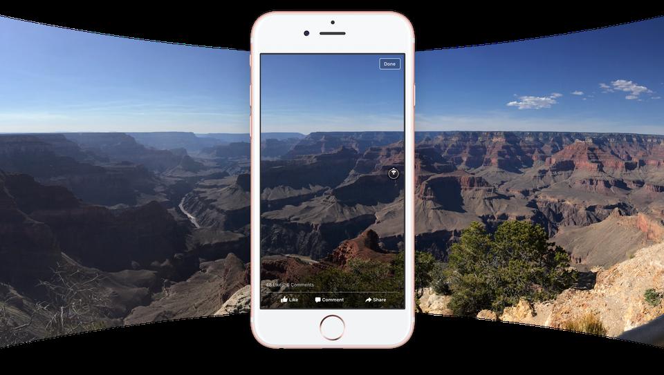 360° Fotos von Facebook