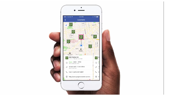 Facebook Store Locator (Quelle: Facebook)