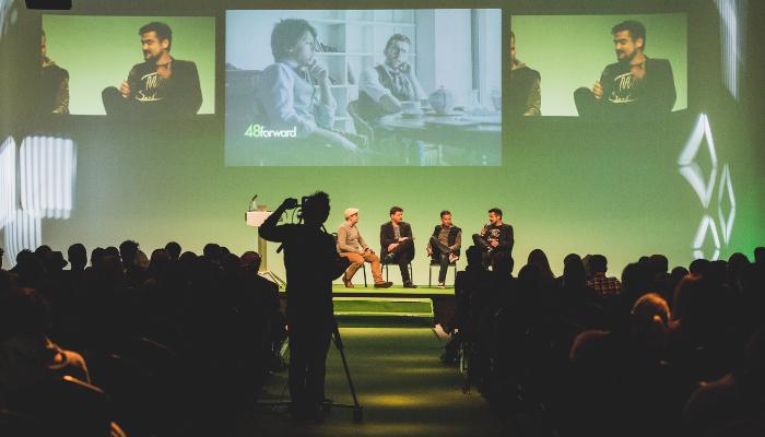 Experten-Panel auf der 48forward 2015