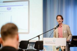 Christof Kessemeier von Unitymedia auf dem Stuttgarter Medienkongress 2016.