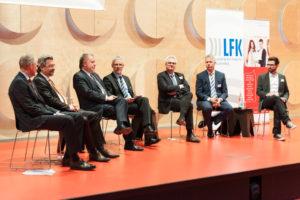 Panel mit dem ehemaligen Ministerpräsidenten Kurt Beck