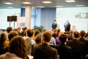 Begrüßungsrede auf dem Stuttgarter Medienkongress 2016 durch Thomas Langheinrich.