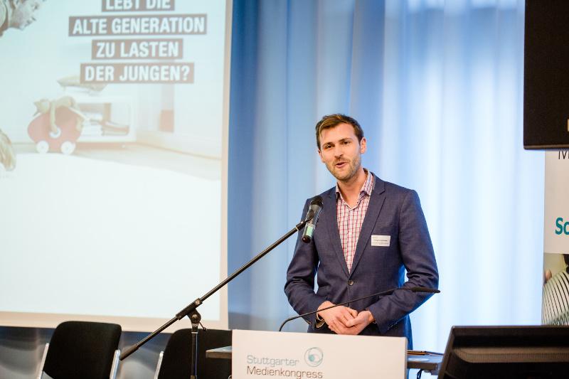 Vortrag des Autoren Wolfgang Gründinger auf dem Stuttgarter Medienkongress 2016