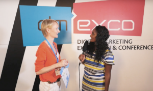 Interview mit Harriet Oerkwitz bei der dmexco 2016.
