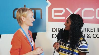 Harriet Oerkwitz im Interview bei der dmexco 2016