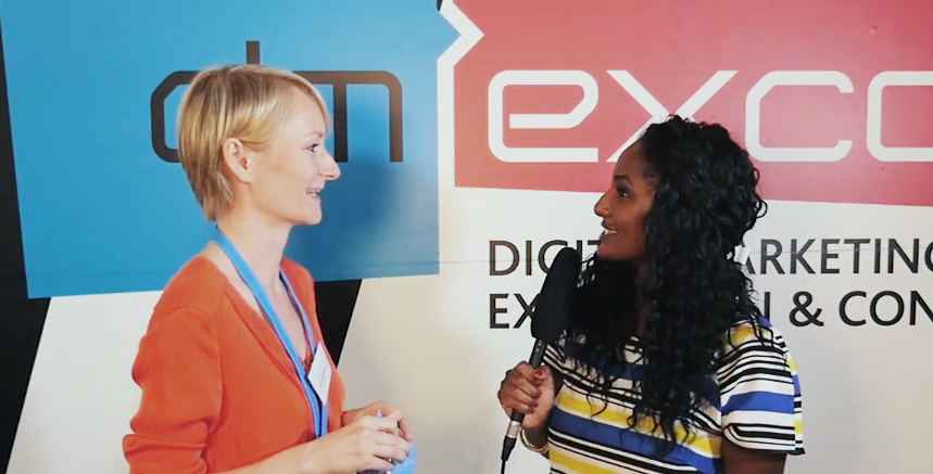 Harriet Oerkwitz im Interview bei der dmexco 2016