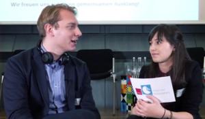 Interview mit Jannis Kucharz von funk auf dem Stuttgarter Medienkongress 2016