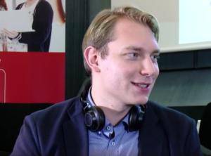 Jannis Kucharz von funk im Interview.