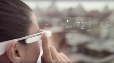 Augmented Reality Device Google Glass