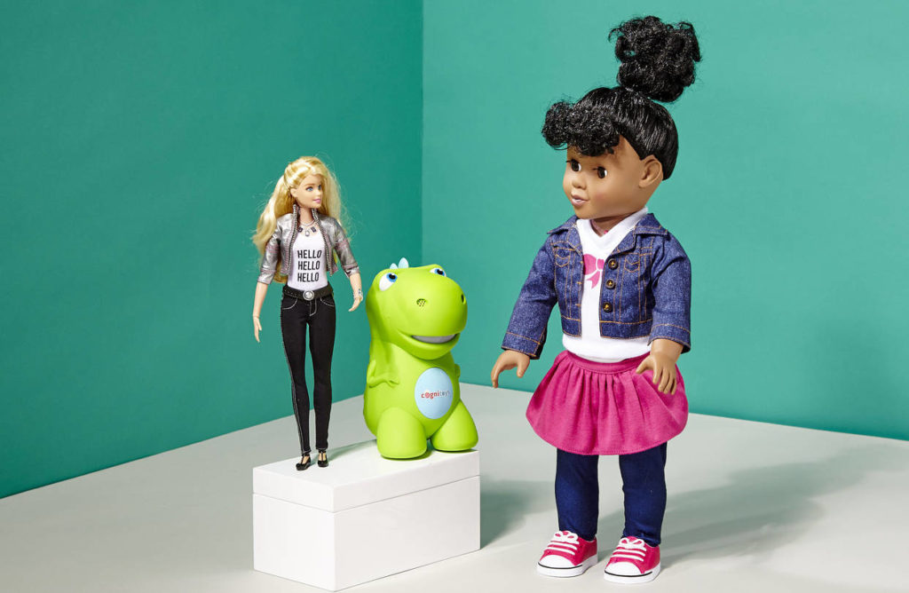 Die Hello Barbie als Smart Toy besitzt eine Spracherkennungssoftware