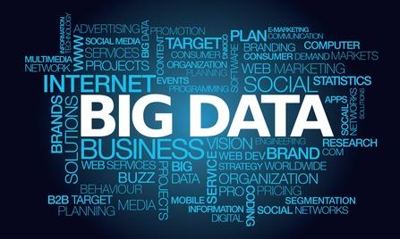 Big data marketing word tag cloud illustration (Quelle: EIM Deutschland)