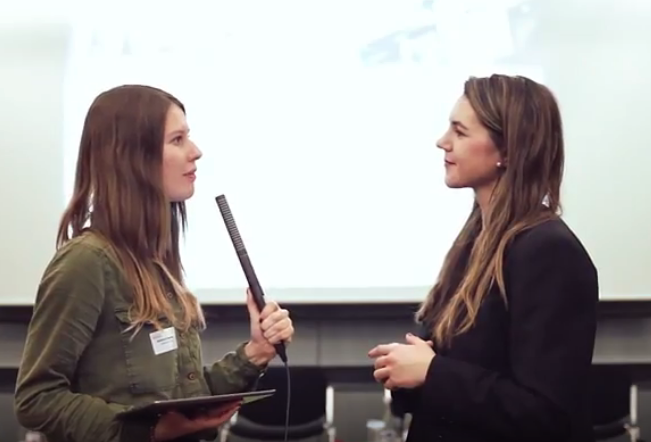 Pauline Tillman über multimediales Storytelling beim Stuttgarter Medienkongress 2017